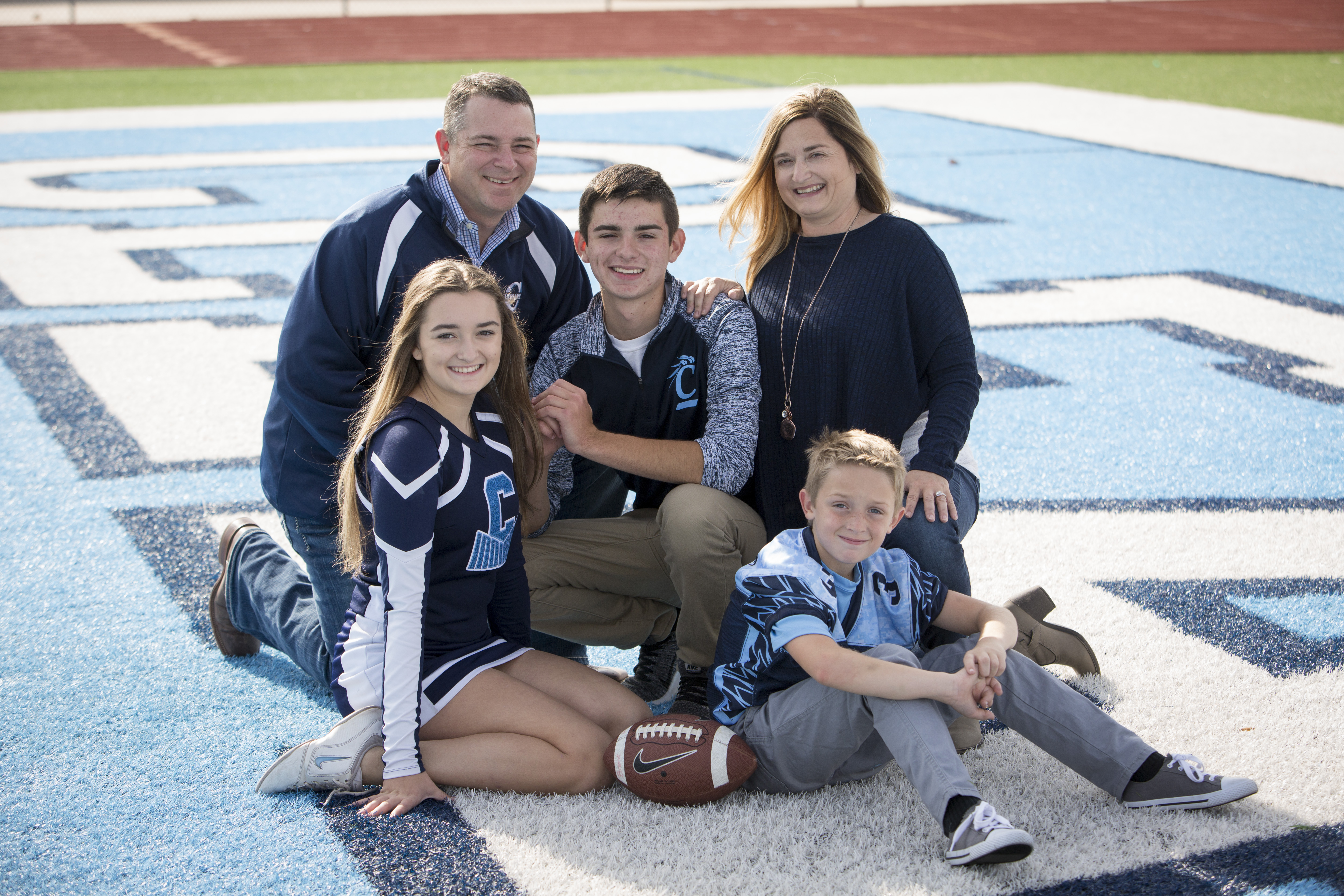 Family Sports Picture