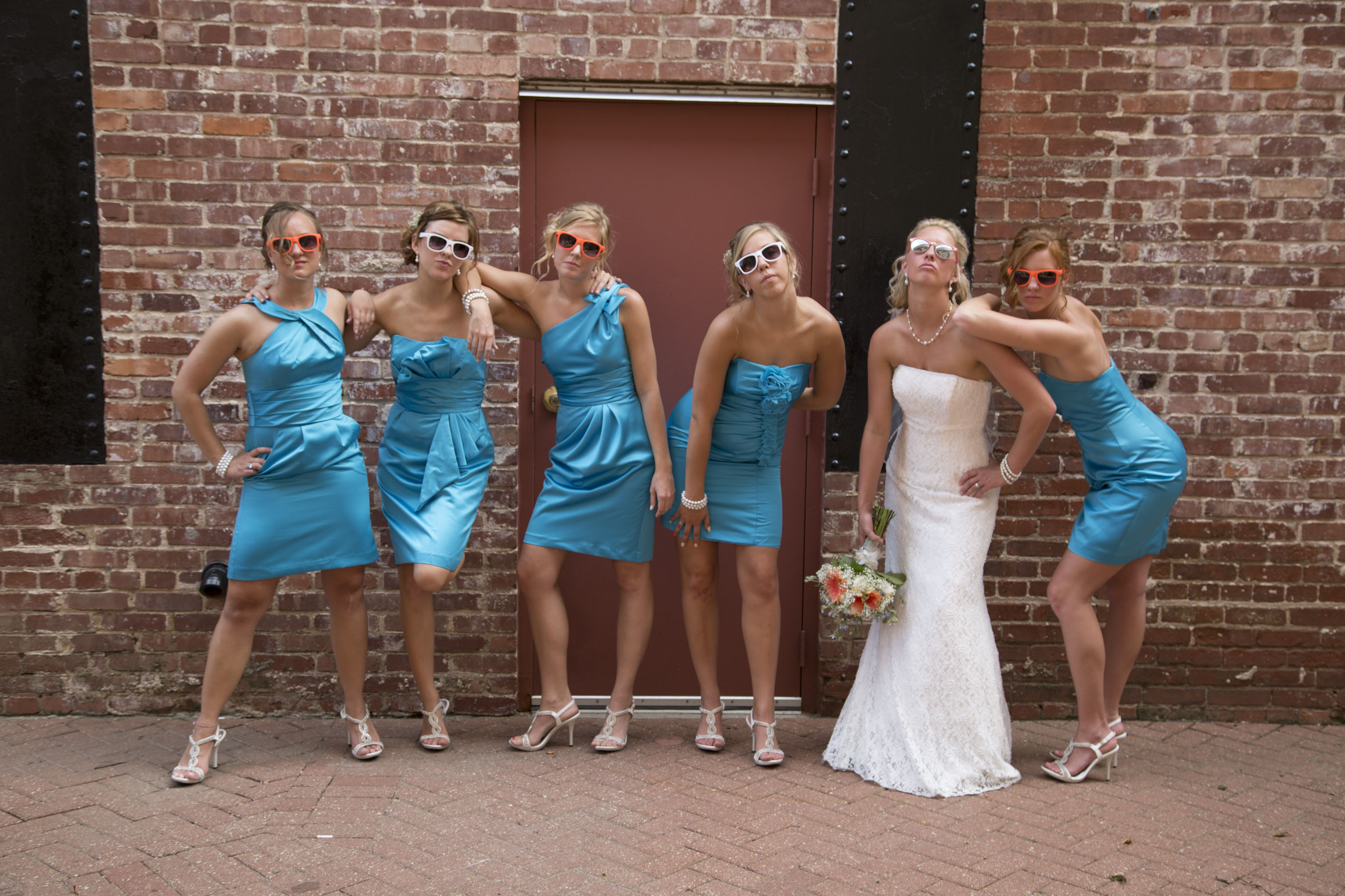 Bridesmaid group
