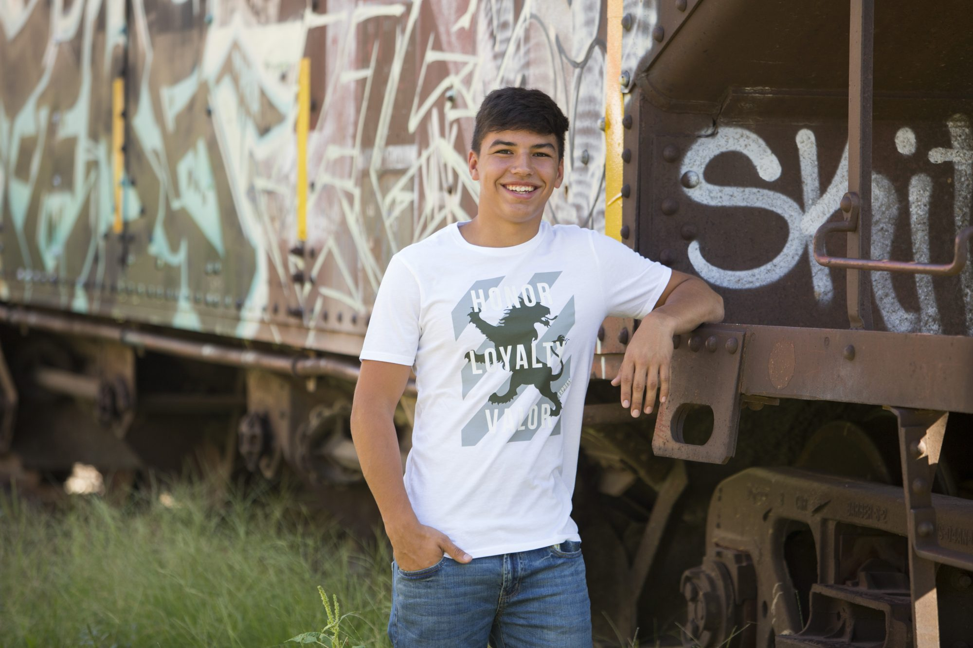 senior train shot
